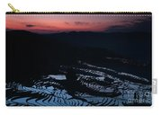 Rice Terrace After Sunset Carry-all Pouch