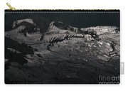 Rice Terrace In Black And White Carry-all Pouch