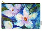 Ricepaper Blooms Carry-all Pouch