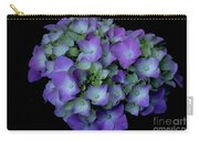 Rich Hydrangea Carry-all Pouch