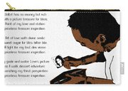 Rich Picture Poem Carry-all Pouch