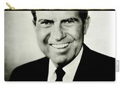 Richard M Nixon Carry-all Pouch by Benjamin Yeager