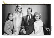 Richard Nixon And Family Carry-all Pouch