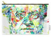 Richard Wagner Watercolor Portrait Carry-all Pouch