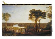 Richmond Hill On The Prince Regent's Birthday Carry-all Pouch