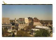 Richmond Virginia - Old And New Capitol Buildings Carry-all Pouch
