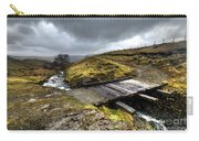 Rickety Bridge On Honiston Pass  Carry-all Pouch