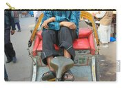 Rickshaw Driver India Carry-all Pouch