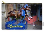 Ride The Champion Carry-all Pouch