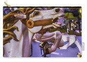 Ride The Wild Carrousel Horses Carry-all Pouch