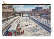 Rideau Skateway Carry-all Pouch