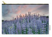 Ridge Of Lupine At Dawn Carry-all Pouch