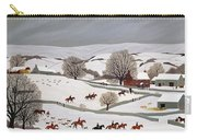 Riding In The Snow Carry-all Pouch