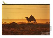 Riding Into The Sunset Carry-all Pouch