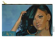 Rihanna Painting Carry-all Pouch