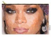 Rihanna Portrait Carry-all Pouch