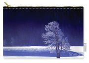 Rime Ice Covered Tree Yellowstone National Park Wyoming Carry-all Pouch