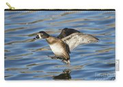 Ring-necked Duck Landing Carry-all Pouch