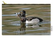 Ring-necked Duck Swallowing Snail Carry-all Pouch