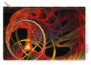 Ring Of Fire Carry-all Pouch by Andee Design
