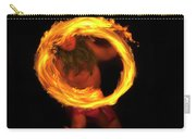 Ring Of Fire Carry-all Pouch by Mike  Dawson