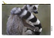 Ring-tailed Lemur Lemur Catta  Carry-all Pouch