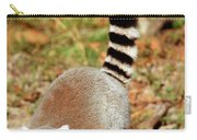 Ring-tailed Lemur Lemur Catta Walking Carry-all Pouch