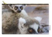 Ring-tailed Lemur Mother Drinking Carry-all Pouch