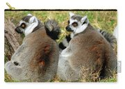 Ring-tailed Lemurs Lemur Catta Carry-all Pouch