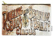 Ringling Brothers And Barnum And Bailey Circus Carry-all Pouch