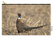 Ringneck Pheasant Rooster Carry-all Pouch