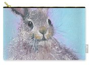 Easter Bunny Painting - Ringo  Carry-all Pouch