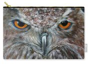 Rings Of Fire, Owl Carry-all Pouch
