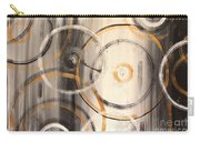 Rings Of Gold Abstract Painting Carry-all Pouch