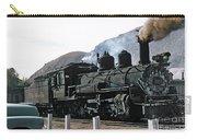 Rio Grande Railway Baldwin Built In 1903 No. 464 Circa 1955 Carry-all Pouch