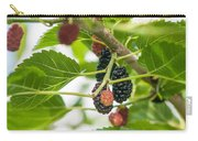 Ripe Mulberry On The Branches Carry-all Pouch