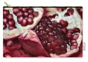 Ripe Red Pomegranate Close Up Carry-all Pouch