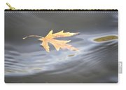 Rippled Maple Leaf Carry-all Pouch