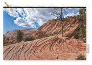 Rippled Rock At Zion National Park Carry-all Pouch