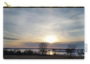 Rippled Sunset Carry-all Pouch
