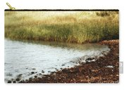 Rippled Water Rippled Reeds Carry-all Pouch