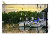 Ripples At Sunset Carry-all Pouch by Brian Wallace