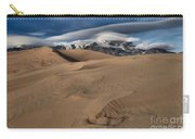Ripples Dunes And Clouds Carry-all Pouch