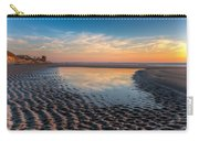 Ripples In The Sand Carry-all Pouch by Debra and Dave Vanderlaan