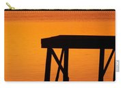 Ripples Of Copper Carry-all Pouch by Karen Wiles