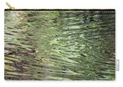 Ripples On Florida River Carry-all Pouch
