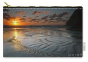 Ripples On The Beach Carry-all Pouch