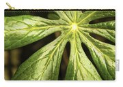Rising Star The Mayapple Of Spring Carry-all Pouch