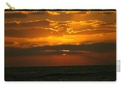 Rising Sun In The Clouds  Carry-all Pouch