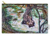 River And Plane Tree Carry-all Pouch